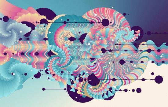 Евгений Киселев - выставка абстрактной графики