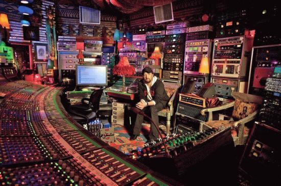 студия для создания музыки