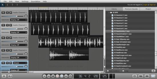 Soundation - музыкальная онлайн-студия