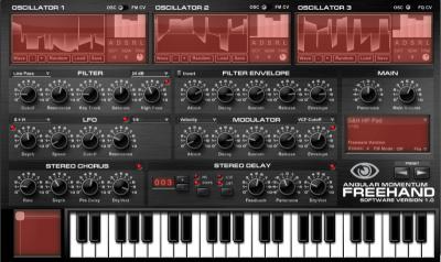 FreeHand VSTi синтезатор