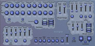 Tetra VSTi синтезатор