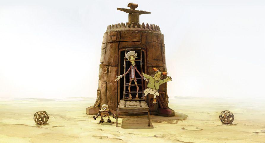Сценарий мультфильма написан по мотивам сценария Г. Данелия и Р