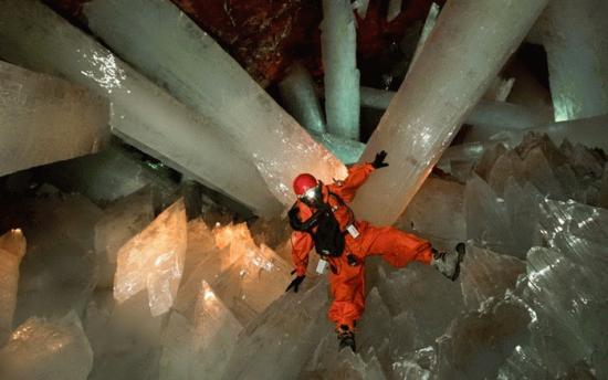 хрустальная пещера в мексике