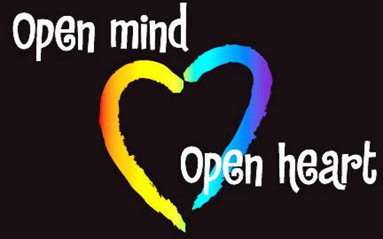 открой разум, открой сердце