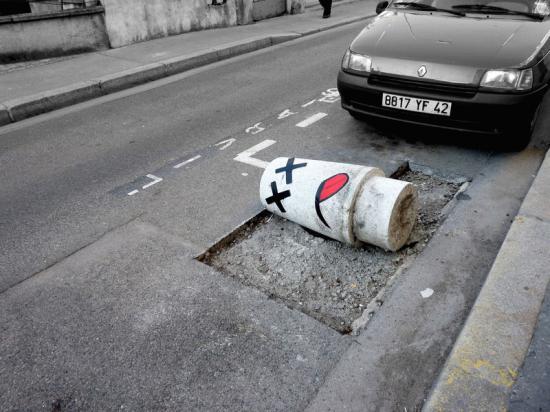 oakoak - урбанистическое искусство