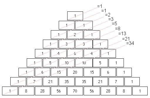 Fibonacci sequence numbers