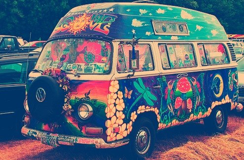 VW - легендарные автобусы хиппи
