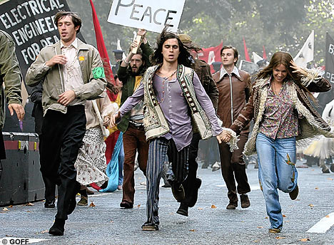 hippies police